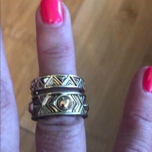 House of Harlow ring set -3 rings
